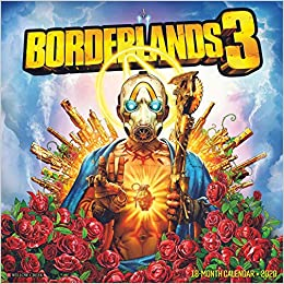 Games Coming Out In September 2020.Borderlands 3 2020 Wall Calendar Gearbox Publishing