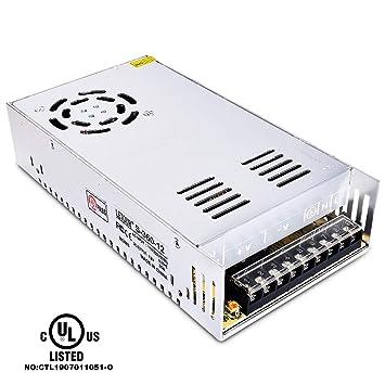 Amazon.com: letour 12 V 30 A DC fuente de alimentación 360 W ...