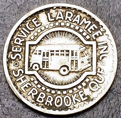 Unbranded Service LARAMEE Sherbrooke 1 FARE Token SCARCE