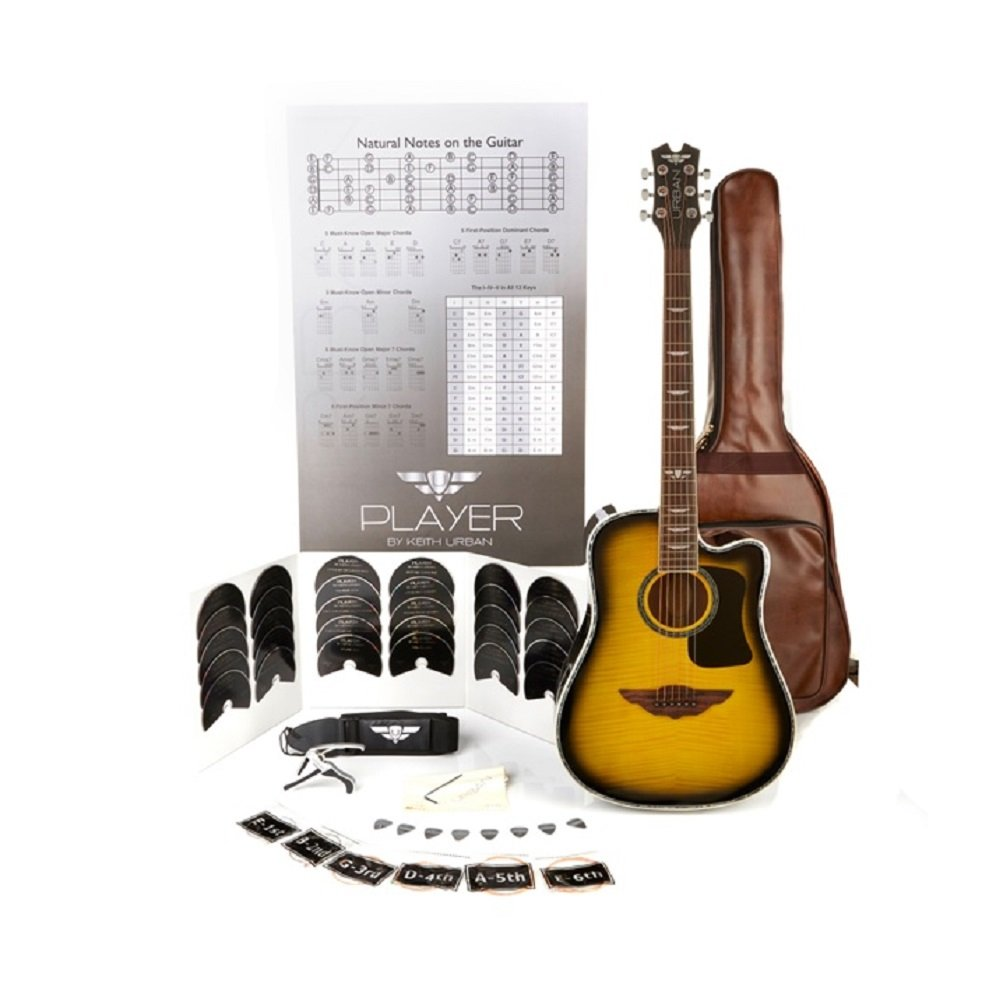 Amazon Keith Urban Juniorplayer Tour Guitar 50 Piece Package