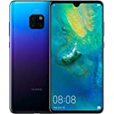 Huawei Mate 20 Smartphone, 128 GB 6.53-Inch 2K FullView Android 9.0 SIM-Free Smartphone with New Leica Triple AI Camera and Ultra Wide Angle Lens, Twilight