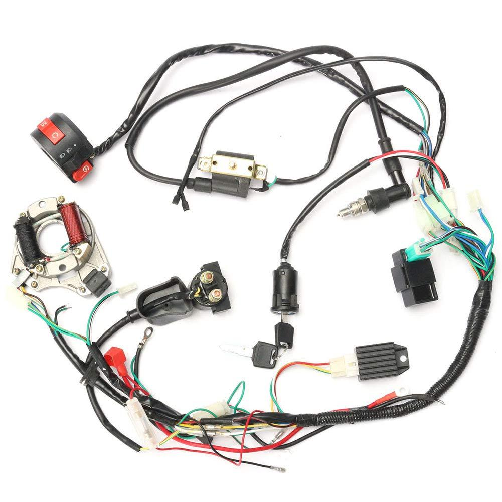 Cdi Fil Assembl/ée du Faisceau De C/âbles Set pour VTT /Électrique Chinois 50Cc-125Cc Quad MAyouth Fils