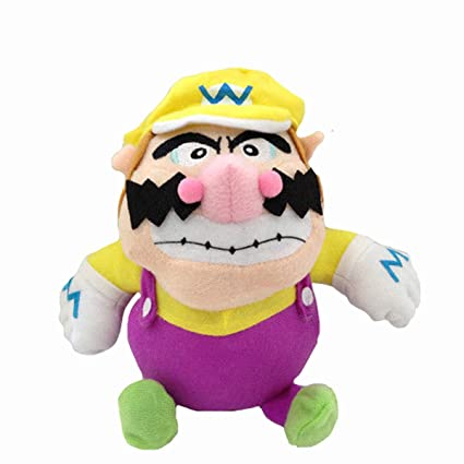 Amazon.com: Super Mario Bros Baby Wario - Peluche de peluche ...
