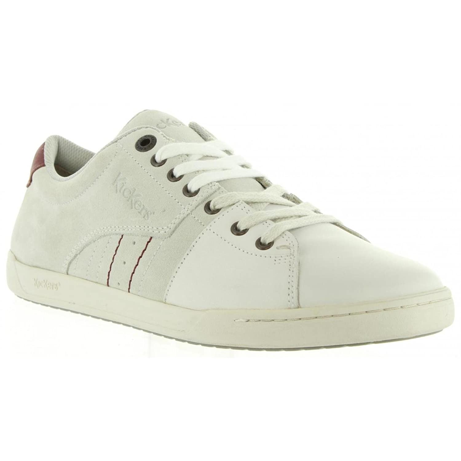 Chaussures pour Homme KICKERS 548530-60 CROTAL 3 BLANC jBgacN9
