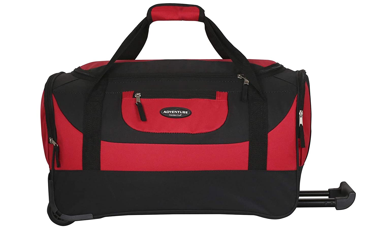 Travelers Club 20-30 ADVENTURE Rolling Travel Duffle Bag