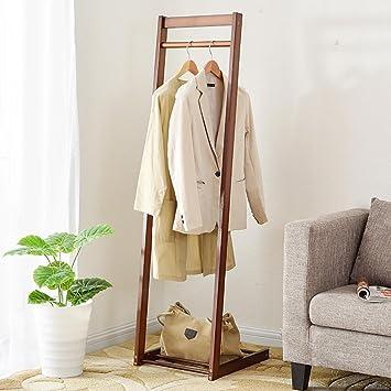 Kreative Garderobe amazon de huishuai stilvoller kleiderbügel aus holz kreative