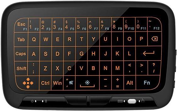 Mitid Mini Combo de ratón touchpad remoto Teclado inalámbrico de 2,4 GHz para Android TV Box, caja de Google TV, IPTV, Smart TV y Más …: Amazon.es: Electrónica