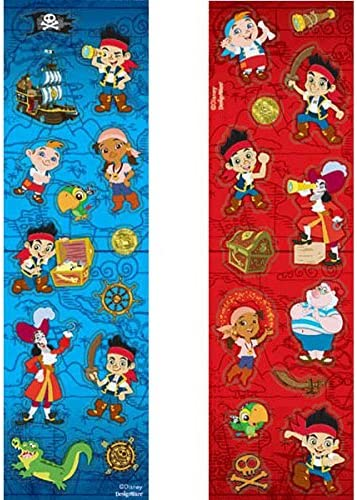 Blue Pirates Sticker 12 Stickers Great  Pirate Fun Story /& Colouring Book