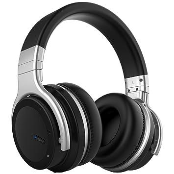 Auriculares Bluetooth Activos con Cancelación de Ruido [2018 Actualizado] Auriculares Inalámbricos Meidong E7 PRO