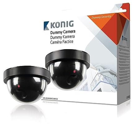 Rey profesional interior CCTV cámara de vigilancia IP de muestra con intermitente LED - gran cámara