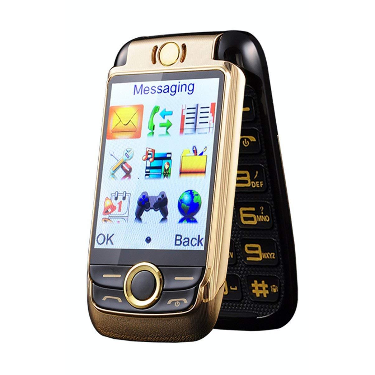 JullyeleDEgant Wasserdichtes Elder Man Cellphone FM Radio Dual SIM GSM Standby Box für große Lautsprecher