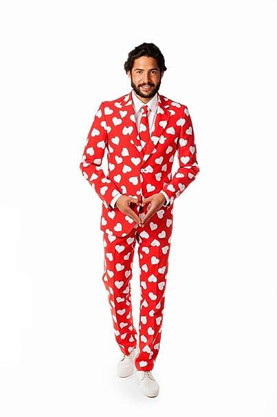 Amazon.com: OppoSuits Mr. Disfraz de amante de la fiesta ...