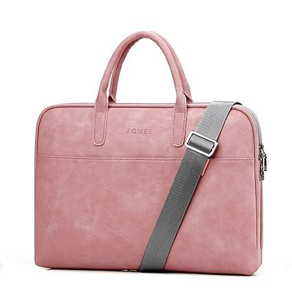 c215c42790bb5 Moda Piel Sintética ajuste Hombres Notebook Bag Laptop Bag portafolios Bolsas  de Crossbody Messenger Satchel Bolso