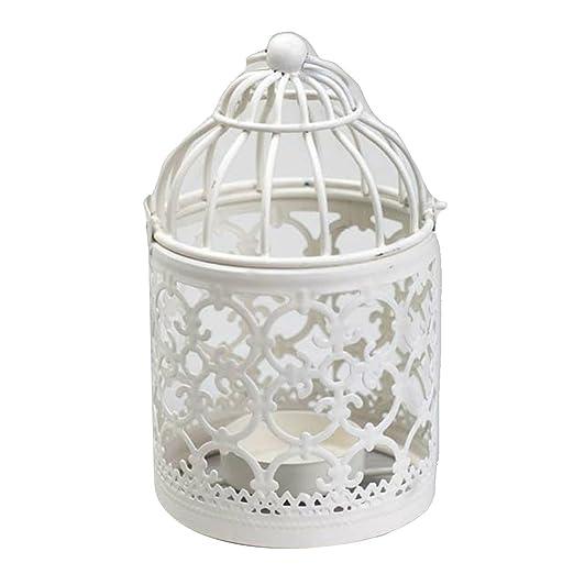 Hisuper - Portavelas decorativo hueco, velas de té, velas ...