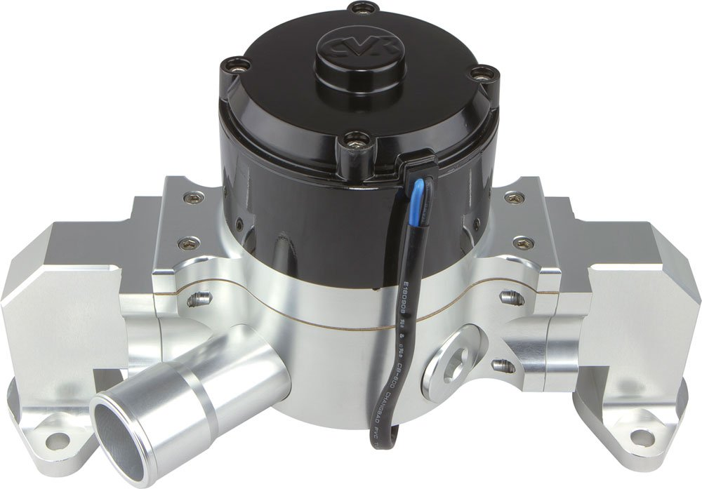 CVR Performance 8554CL Clear Billet Aluminum Electric Water Pump