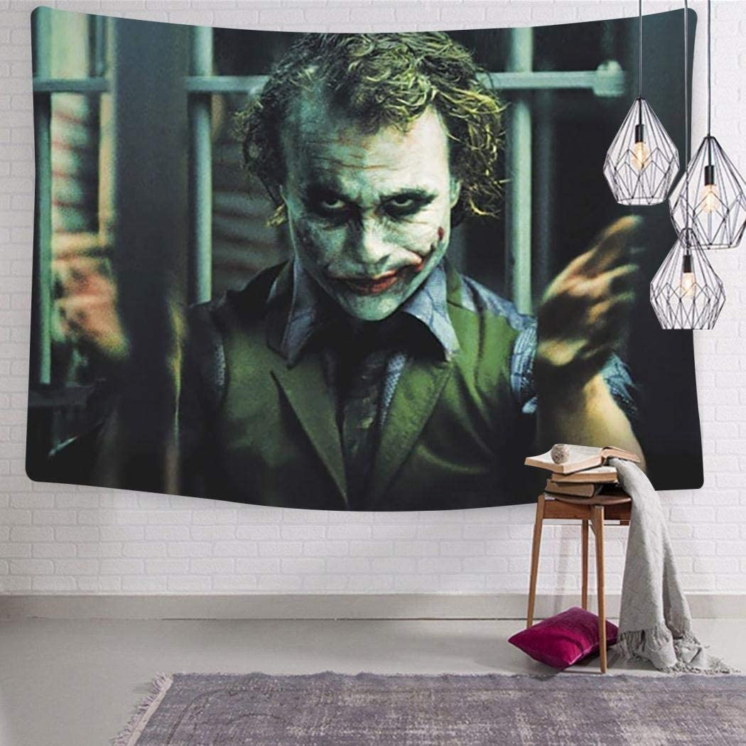VIPODER Tapestry Wall Hanging Decor Blanket Jo-ker Your Turn Decorations for Living Room Bedroom Home Decor Tapestries 59.1 x 82.7 Inch
