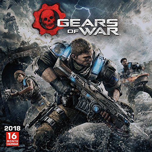 Gears Of War 2018 Wall Calendar ...