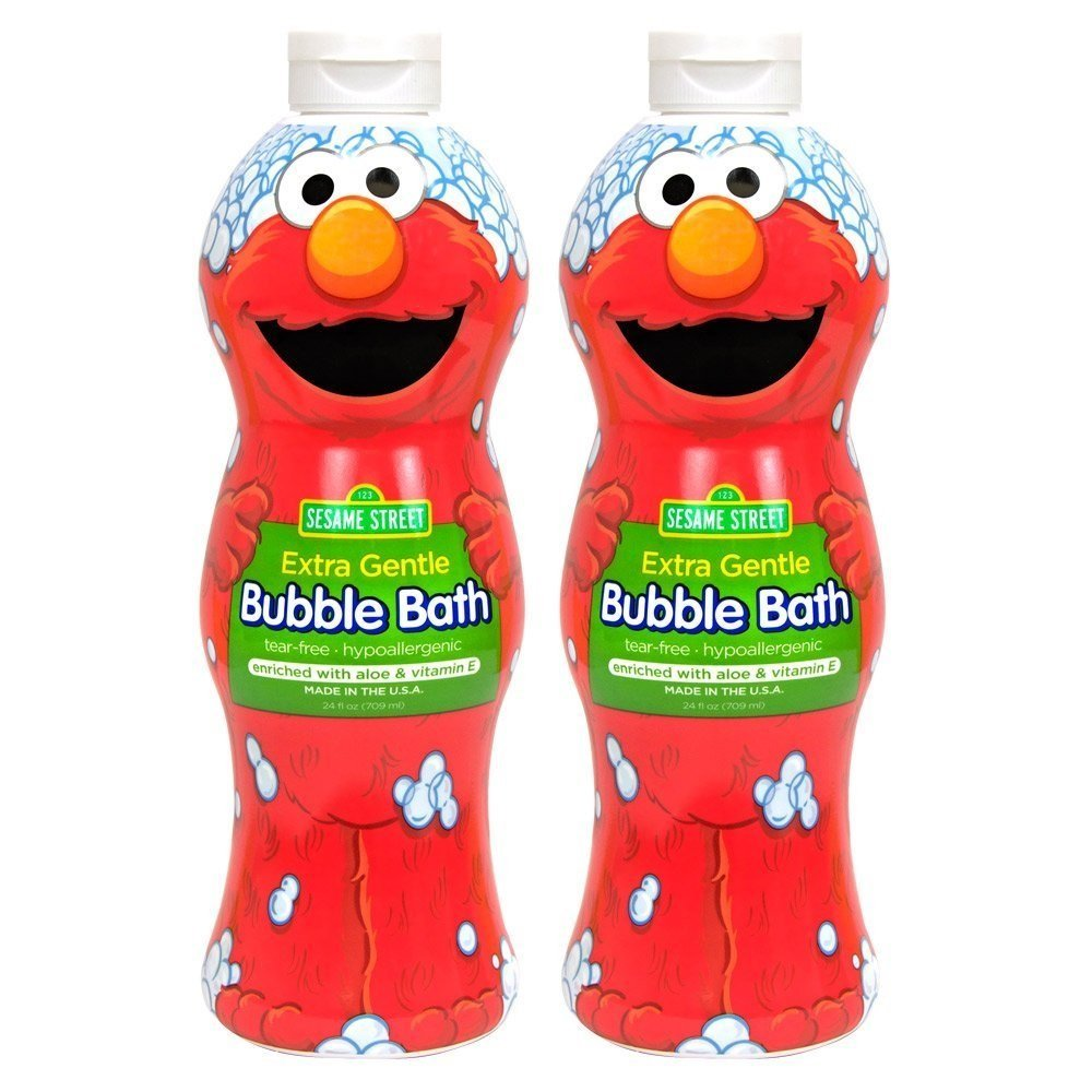 Sesame Street Bubble Bath Extra Sensitive, 24 Ounce (Pack of 2)