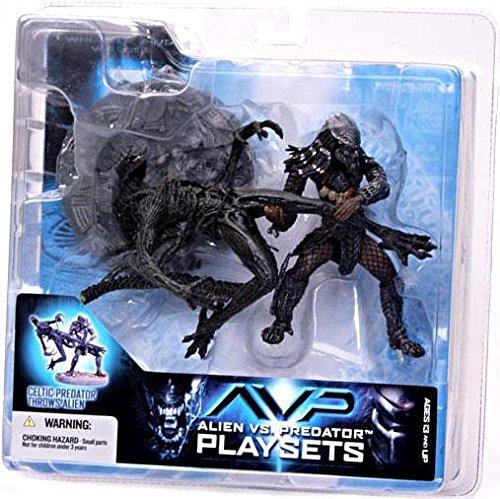 Celtic Predator (McFarlane: Alien vs. Predator - Celtic Predator Throws Alien)