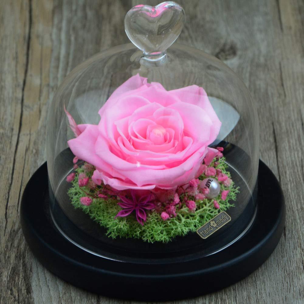 Flor Rosa ' Eterna Día De San Regalo Caja Lxj Valentín ulK13cTFJ