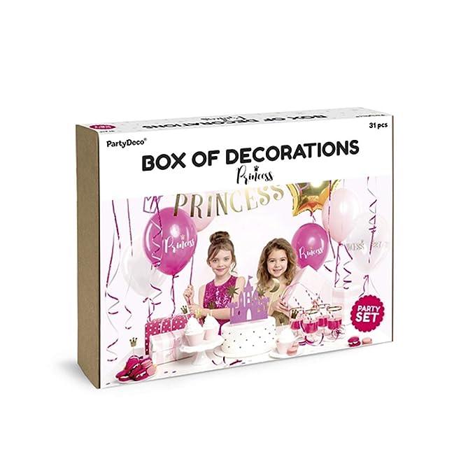 Partydeco - Kit de decoración para Fiestas y cumpleaños con ...