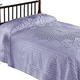 Starburst Vintage Country Bedspread, Lavender, Twin