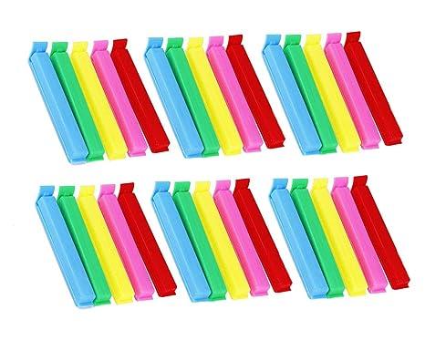 Amazon.com: CDOFFICE 30 clips para bolsas de sellado de ...