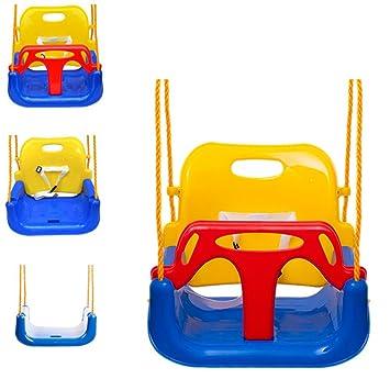 156498228 Extsud 3 En 1 Columpios Infantiles para Bebés Niños con Silla Convertible  en Asiento de Seguridad