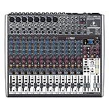 Behringer X2222USB Premium 22-Input 2/2-Bus Mixer, 24-Bit Multi-FX Processor