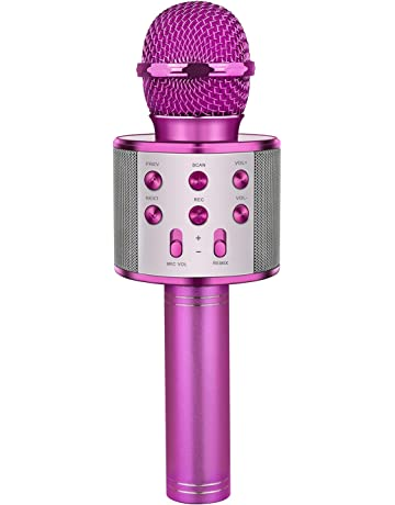 1036bd608211e9 LET S GO! DIMY Wireless Portable Handheld Bluetooth Karaoke Microphone -  Best Gifts