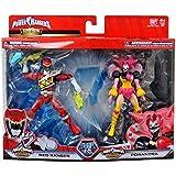 Power Rangers Dino Super Chargers Good vs Evil Red Ranger Poisandra Action Figure 2 Pack