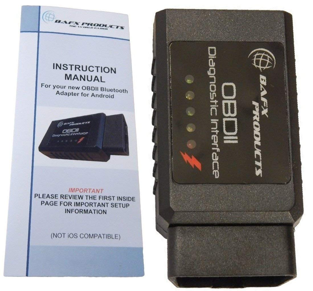 BAFX Products Bluetooth OBD2 / OBDII Diagnostic Car Scanner Reader Tool for Android by BAFX Products (Image #8)