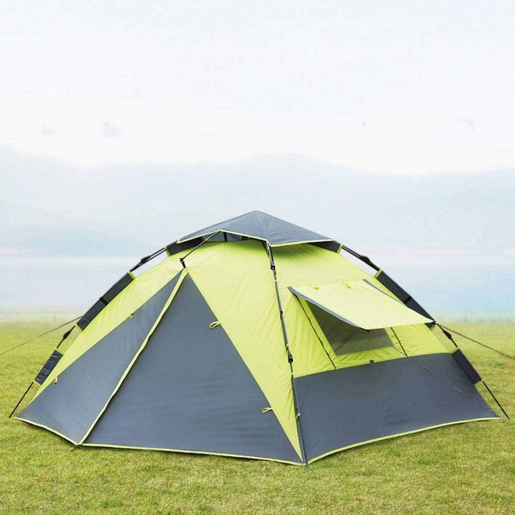 HWL Luxus Outdoor Wasserdichte Vierjahreszeiten Familien Camping und Winter Winter Winter Baumwolle Leinwand Zelt mit Tür und Windows B07Q71YMP8 Kuppelzelte Sorgfältig ausgewählte Materialien a1e975