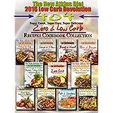 The New Atkins Diet 2016 Low Carb Revolution 404 Super Quick, Super Easy, Super Delicious Zero & Low Carb Recipes Cookbook Collection