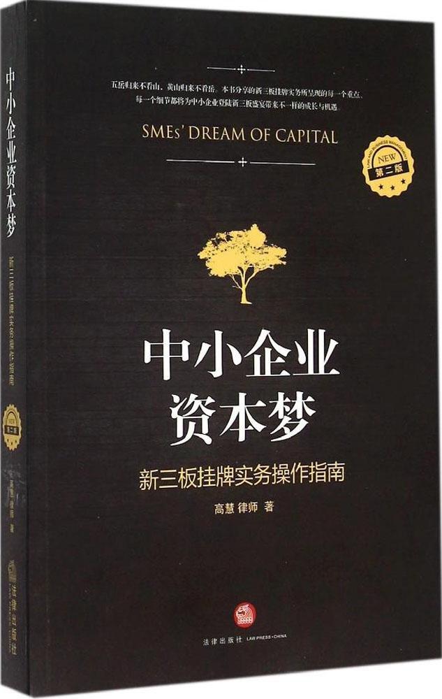 Read Online 中小企业资本梦:新三板挂牌实务操作指南(第2版) ebook