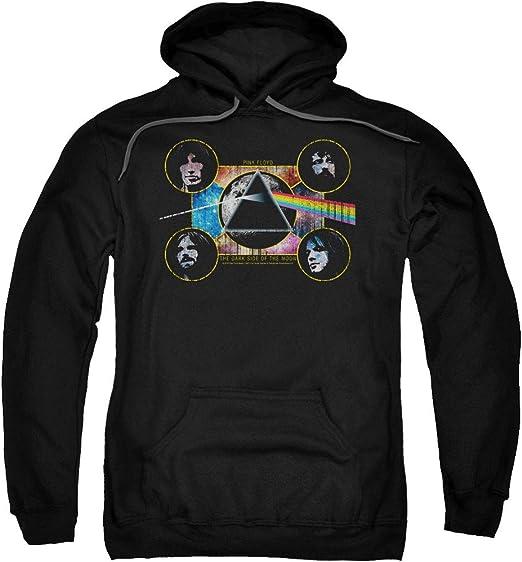 : Pink Floyd Adult Pullover Hoodie Dark Side