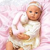 Paradise Galleries Reborn Baby Doll Like Lifelike Realistic Doll Vinyl 19 inch Baby Girl Doll Gift Baby Bella