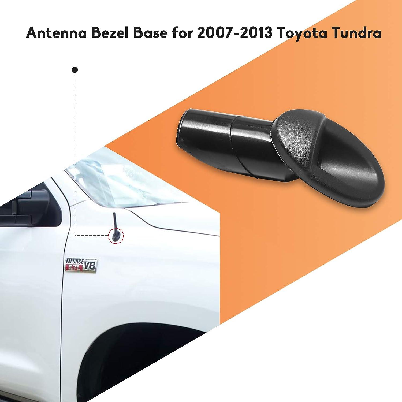5 Pcs Fits 2007-2013 Toyota Tundra Antenna Adapter Base Brand New Black Mount