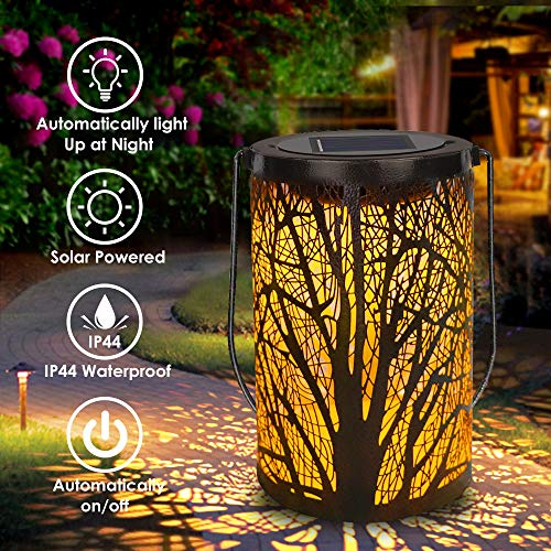 Solar Lantern Outdoor Lights