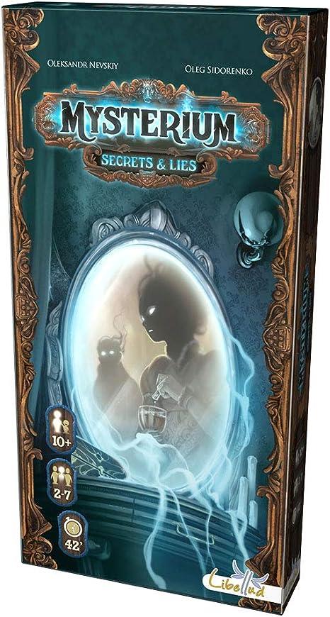 Libellud- Juego de Cartas Mysterium: Secretos Y Mentiras (Asmodee LIMYEX02): Amazon.es: Juguetes y juegos
