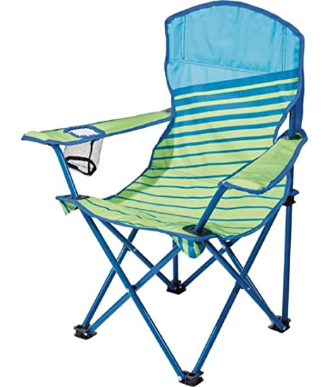 Enjoyable Quest Junior Chair Green Blue Stripe Color Dimensions 22 X 15 X 26 Andrewgaddart Wooden Chair Designs For Living Room Andrewgaddartcom