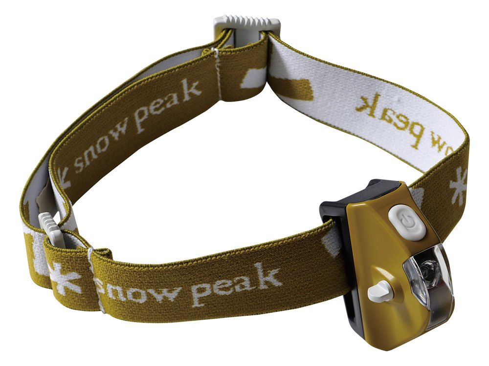 Snow Peak Stirnlampe Motil Headlamp olive