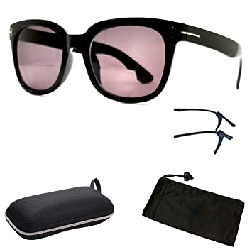 1de2cae80b99 Image Unavailable. Image not available for. Color  Fashion Designer Sun  Readers Women Bifocal Sunglasses + Reading Glasses ...