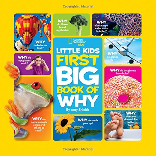 National Geographic Little Kids First Big Book of Why (National Geographic Little Kids First Big Books) cover