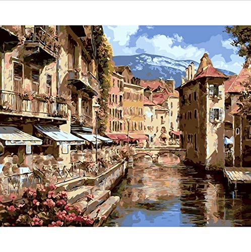 Jigsaw Puzzle 1000 Piece 3D Puzzle Hq Romantic Italy City of Florence Home Decor Picture Work Living Room Wall 75X50Cm