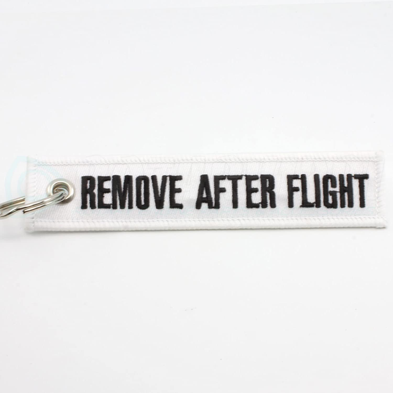 Keychain White Rotary13B1 Remove After Flight