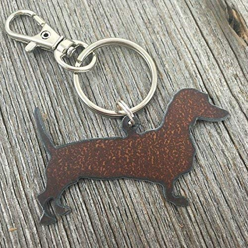 Dachshund Keychain, Gifts for Dog Lovers, Key Chain, Key Ring, Purse Charm