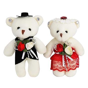 Amazon.com: Sealive Bride and Groom Bear, 4.7