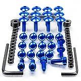 Aluminium Fairing Kit Yamaha FZR600R Blue