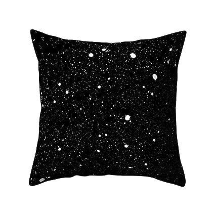 Amazon Wintefei Universe Moon Pillow Case Bed Waist Cushion